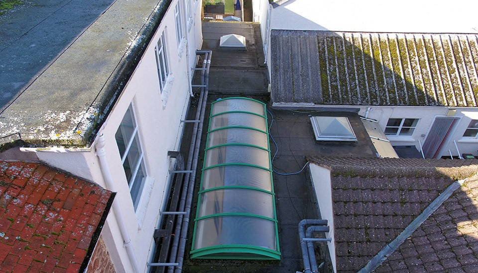 Condition Survey of Minehead Middle School Roof
