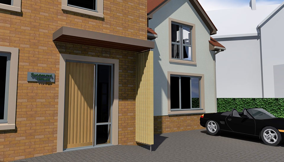 Residential property design for new build in Trull Somerset