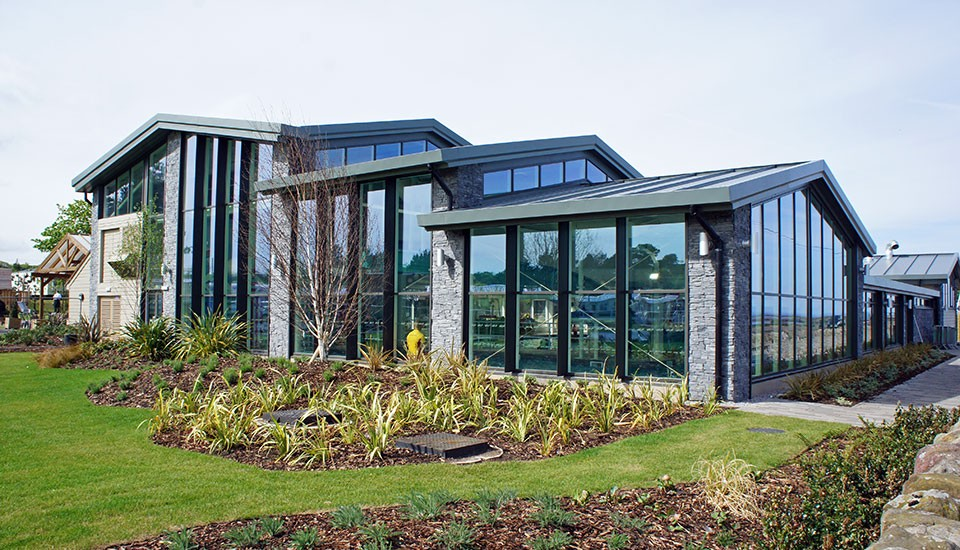 Seton Sands swimming pool extension by Inspired Partnership Ltd