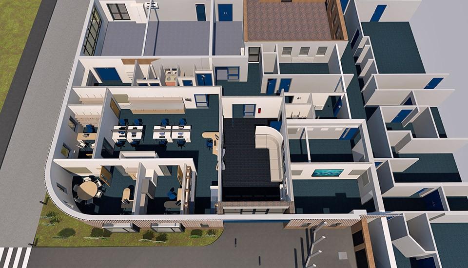 Fiveways school floor plan