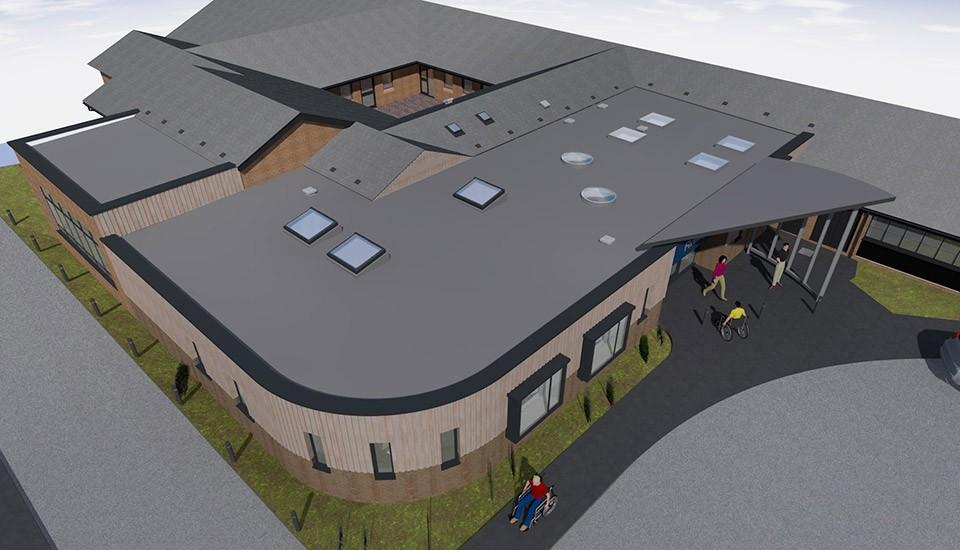 Fiveways school roof