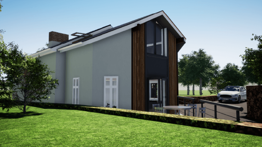 Transforming spaces – Domestic Enhancement near Minehead, in Somerset
