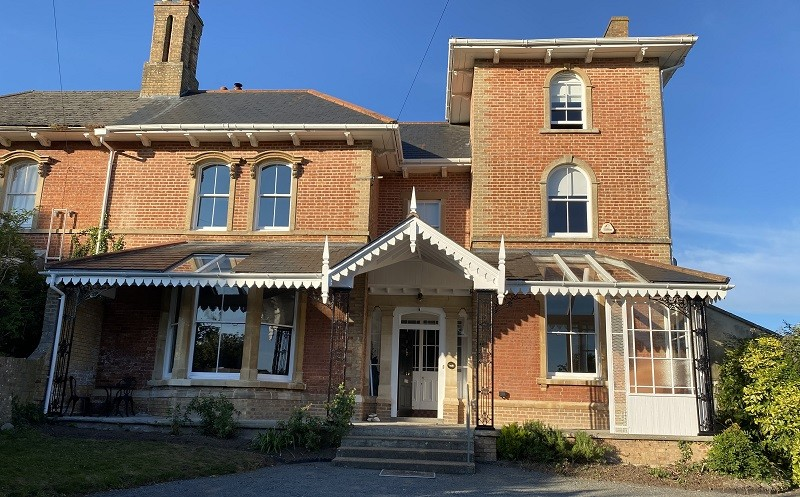Veranda Refurbishment in Taunton Conservation Area