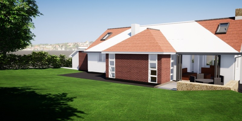 Loft conversion and Extension to Domestic Dwelling in Somerset