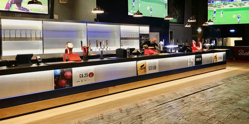 Hotshots Venue – Replacement of a Sports Bar