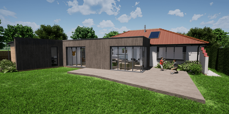 Home Extension in Somerset