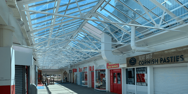R&M works – Completion of Glass Atrium Replacement