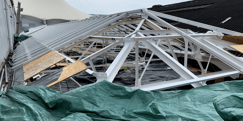 R&M Works – Replacement of a Glass Atrium