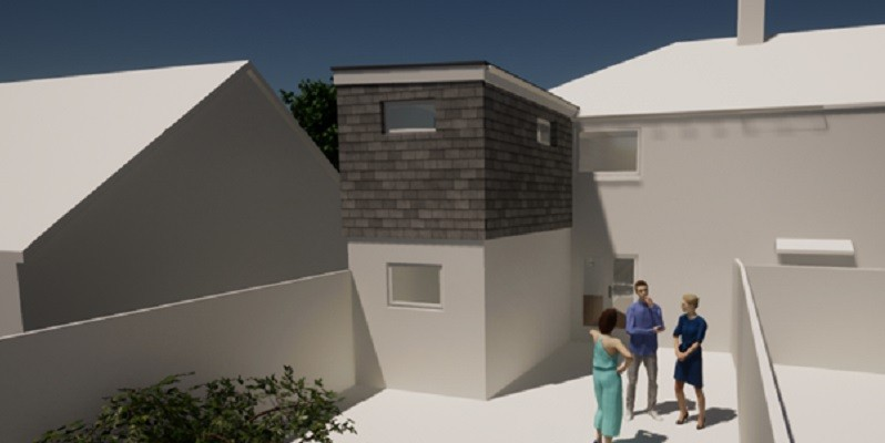 Domestic Extension in West Somerset