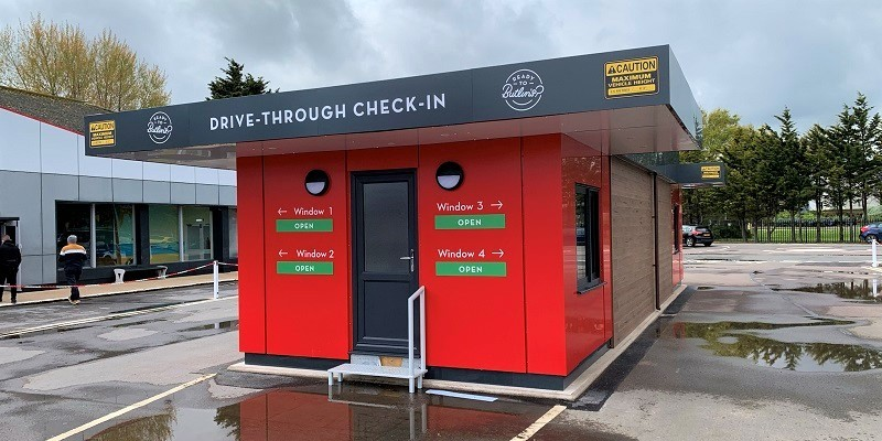 Drive Through Check-in Suite